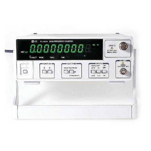 EZ Digital FC-3000 Frequency Counter with RS232C, 3GHz 9-Digit Led Period Total