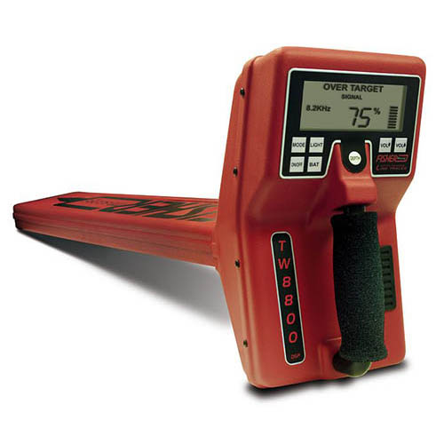 Fisher Labs TW-8800M Multi-Frequency Digital Underground Line Tracer, Readout in Metric Units