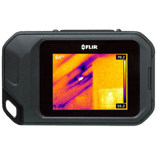 FLIR C2 3 in. Compact Thermal Imaging System, MSX Enhancement, 160 x 120 Resolution