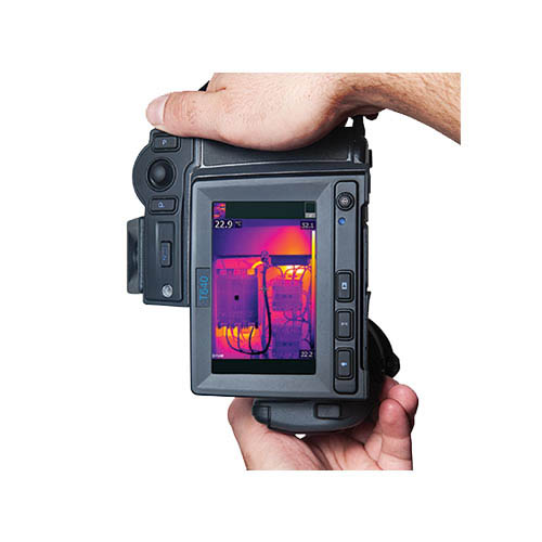 FLIR T640BX-NIST-25 Thermal Imaging Camera, MSX, NIST, 25� Lens, 640x480, -40-1,202�F, 30Hz, 8x Zoom (In Hand/Touchscreen)