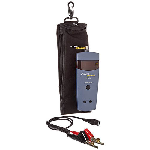 Fluke Cable Locator : Fluke networks ts cable fault finder with case
