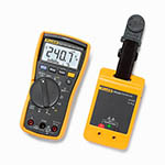 Click for larger image of the Fluke 117/PRV240 Proving Unit Combo Kit with 117 Digital Multimeter and PRV240 Proving Unit
