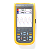 Fluke 125B 40 MHz 2 Ch, 40 MS/s Industrial Scopemeter, Hand-Held Oscilloscope, with Bus Health