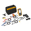 Fluke 125B/S 40 MHz 2 Ch, 40 MS/s Scopemeter, Hand-Held Oscilloscope with Bus Health and SCC Kit