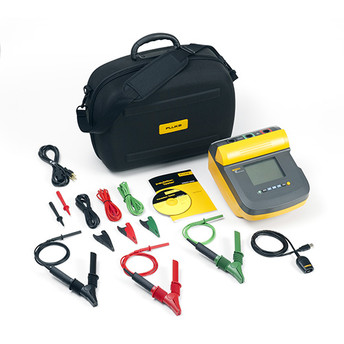 Fluke 1555 10 kV Insulation Resistance Tester, with Measurement Storage and PC Interface