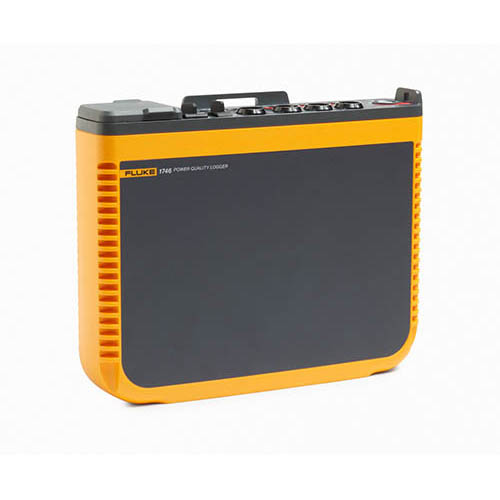 Fluke 1746/30/EUS Three-Phase Semi-Fixed Basic Power Quality Logger with 24 in. iFlex Current Probes, 3000A (Angle)