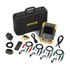 Fluke 190-104/AM/S 100 MHz, 4 Ch, 1.25 GS/s, ScopeMeter Oscilloscope with Built-in DMM & SCC-290 Kit