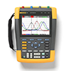 Fluke 190-504/UN 500 MHz, 4 Ch, 5GS/s, ScopeMeter Oscilloscope with BC190 Universal Charger