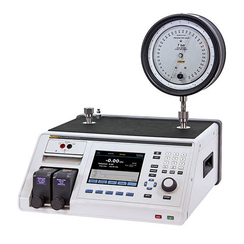 Fluke Calibration 2271A-NPT-P3K Industrial Pressure Calibrator with NPT Manifold and P3000 Test Port Connections ((Precision Dial Gauge NOT INCLUDED))
