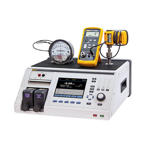 Fluke Calibration 2271A-NPT-P3K Industrial Pressure Calibrator with NPT Manifold and P3000 Test Port Connections ((Draft Range Unit Under Test and Fluke 750P NOT INCLUDED))