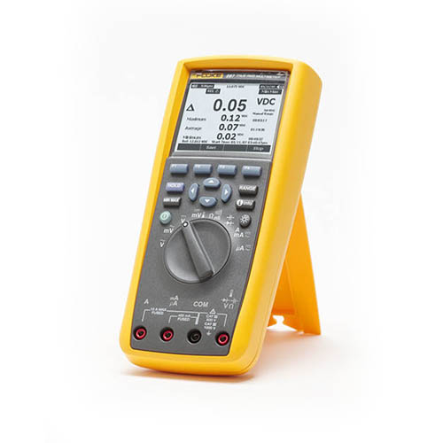 Fluke 287 True-RMS Electronics Logging Digital Multimeter with TrendCapture (On Stand)
