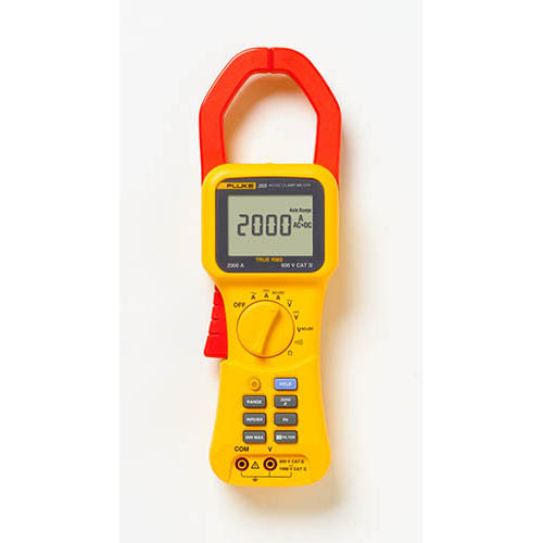 Ac Dc Clamp Meter Fluke : Fluke true rms ac dc clamp meter a at the