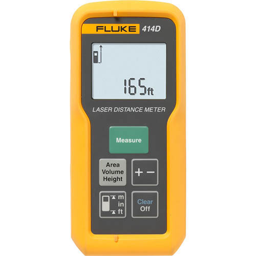 Fluke 414D *Factory Reconditioned* Laser Distance Meter - 50M/165Ft Max