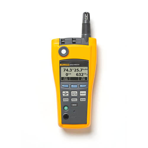 Fluke 975V *Factory Reconditioned* Airmeter with Velocity Probe