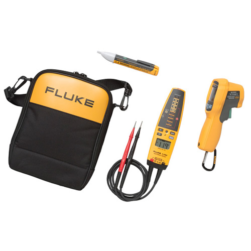 Fluke Electrical Voltage Tester : Fluke fl max t pro ac infrared thermometer electrical
