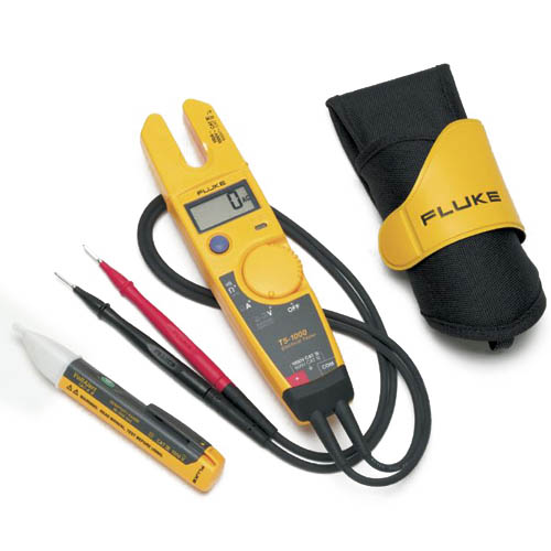 Electrical Current Tester : Fluke t h ac kit us voltage continuity and current