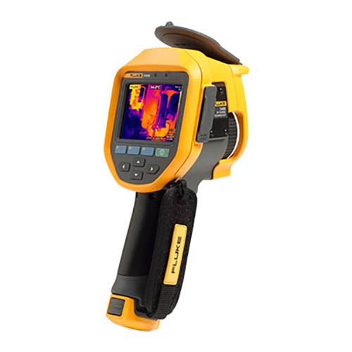 Click for larger image of the Fluke TI450 60HZ Advanced Professional Thermal Infrared Camera, -4 to +2192°F, 320 x 240 pixels