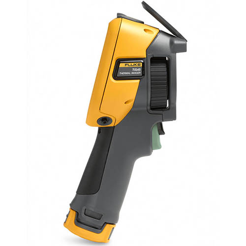 Fluke TIS45 30HZ 30 HZ, 160 x 120, Industrial-Commercial Thermal Imaging Camera (-4 - 662°F) (Side)