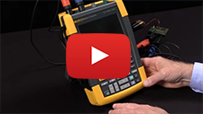 How To Set Up And Reset A The Fluke ScopeMeter® Portable Oscilloscope