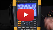 How to transfer data from the Fluke ScopeMeter® Portable Oscilloscope to FlukeView® Software