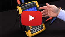 How To Save and Set Up a Waveform With the Fluke ScopeMeter® 190 Series II