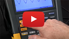 How to use the recording function on the Fluke ScopeMeter® Portable Oscilloscope