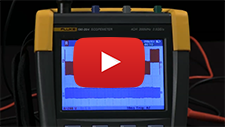 How To Measure Current Using a Fluke ScopeMeter® Portable Oscilloscope