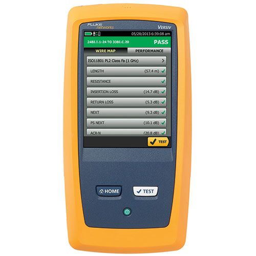 Click for larger image of the Fluke Networks DSX-5000PRO/GLD 1 GHz DSX Cable Analyzer Professional Kit with 1 Year GOLD Support