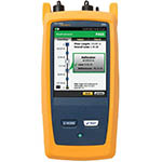 Click for larger imageof the Fluke Networks OFP-100-QI/GLD OptiFiber Pro Quad OTDR with Inspection Kit & 1 Year Gold Support
