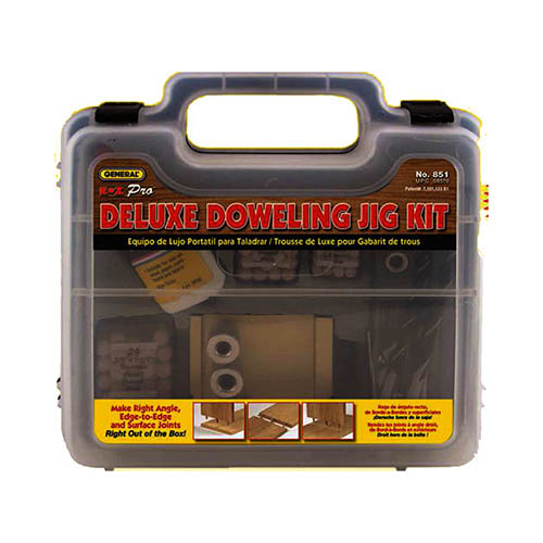 Click for larger image of the General Tools 851 Deluxe Doweling Jig Kit