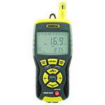 Click for larger image of the General Tools RHMG700DL Data Logging Invasive/Non Invasive Moisture Meter w/ Temp, Humidity & GPP