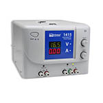 Click for larger image of the Global Specialties 1415 Dual Output DC Power Supply: 30V/3A & 5V/3A