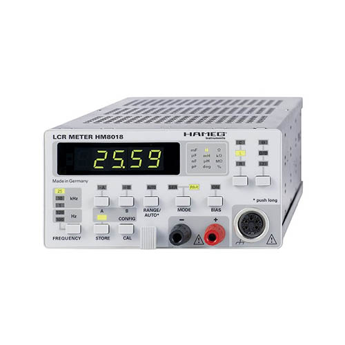 Click for larger image of the Hameg HM8018 LCR Meter Module