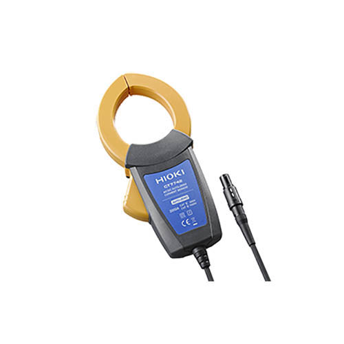 "Click for larger image of the Hioki CT7742 AC/DC Auto-Zero Current Sensor, 2000A, Split Core, 2.17"" Diameter, with PL14"