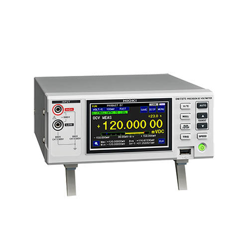 Click for larger image of the Hioki DM7275-03 7-1/2 Digit, 20ppm Precision DC Voltmeter with RS-232C Interface