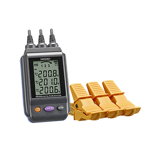 Click for larger image of the Hioki PD3259 Non-Contact Digital Phase Detector
