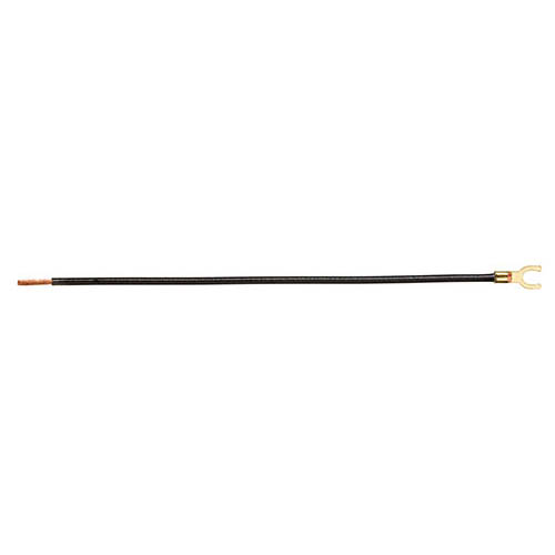 IDEAL Electrical 30-3471 #12 AWG Stranded Non-Grounding Tails/#10 AWG Forked/Stripped (Black/25)