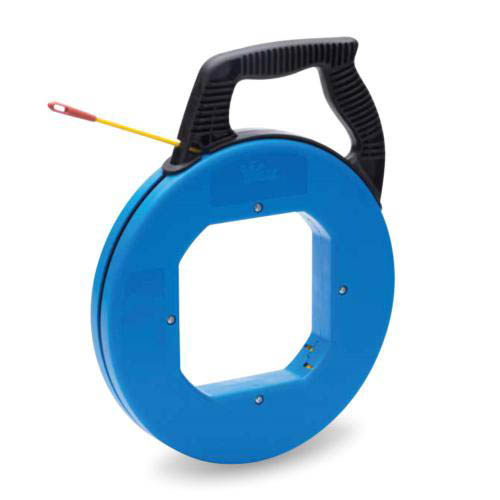 IDEAL Electrical 31-087 12 in. Tuff-Grip Pro Case w/100 ft. S-Class Fish Tape/Non-Conductive Eyelet