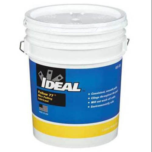 IDEAL Electrical 31-355 Yellow 77 Wire Pulling Lubricant (5 gal. Bucket)