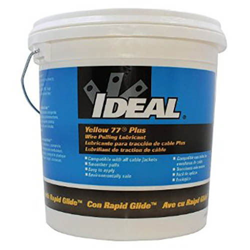 IDEAL Electrical 31-391 Yellow 77 Plus Wire Pulling Lubricant (1 gal. Bucket)