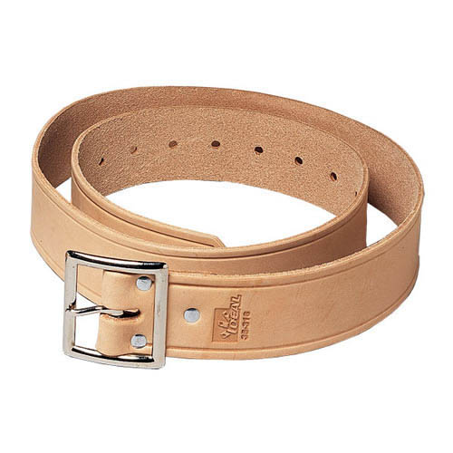 IDEAL Electrical 35-316 1 3/4 in. x 46 in. Standard Leather Belt (Natural)