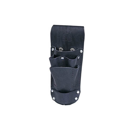 IDEAL Electrical 35-784BLK Hip Holster Leather Tool Pouch (Black)