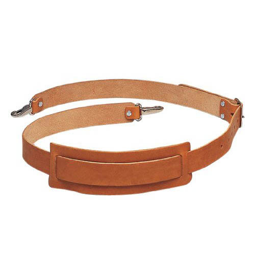 IDEAL Electrical 35-965 2 in. Premium Leather Strap (Tan)