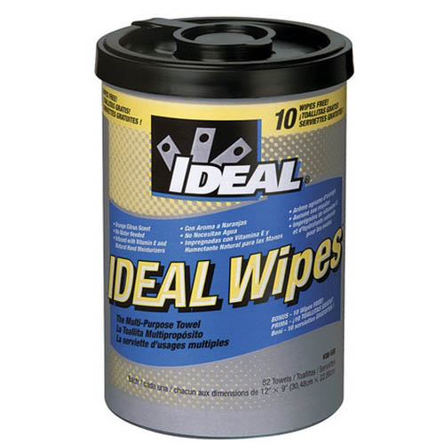 IDEAL Electrical 38-500 Multi-Purpose Disposable Wipes