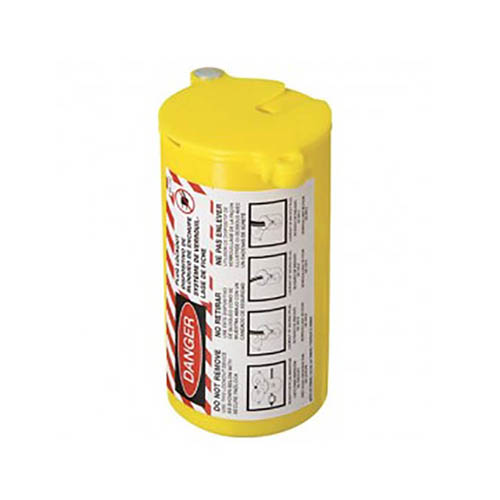 IDEAL Electrical 44-792 Large Labeled Plug Lockout