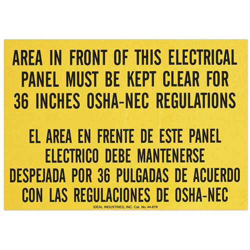 IDEAL Electrical 44-878 3 1/2 in. x 10 in.
