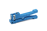 IDEAL Electrical 45-163 1/8 in. - 7/32 in. O.D. Ringer Adjustable Blade Cable Stripper (Blue)
