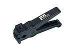 IDEAL Electrical 45-520 3-Step Adjustable Blade Coax Cable Stripper w/Black Cartridge