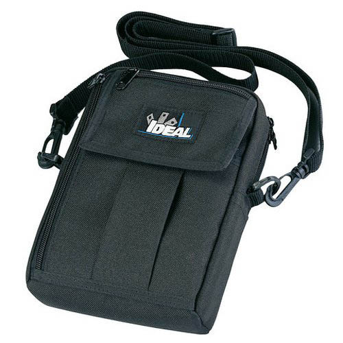 IDEAL Electrical 61-445 Small Nylon Carrying Case w/4 Pockets (Black)