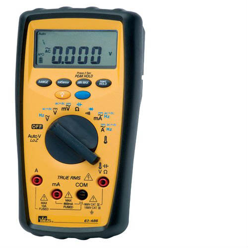 IDEAL Electrical 61-486 486 Series Commercial-Grade Digital Multimeter
